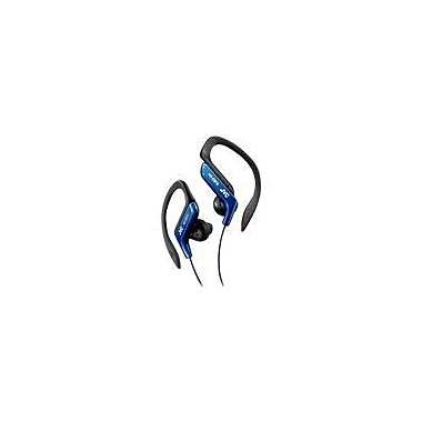 JVC HA-EB75 Sports Clip In-Ear Headphone, Blue