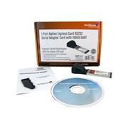 StarTech EC1S952 1 Port Native ExpressCard RS232 Serial Adapter Card W/16950 UART