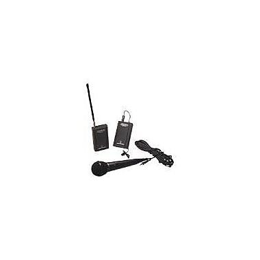 Audio-Technica® TwinMic™ ATR-288W Wireless Microphone System