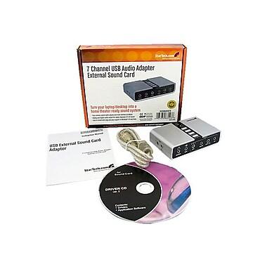 StarTech ICUSBAUDIO7D 7.1 USB Audio Adapter External Sound Card