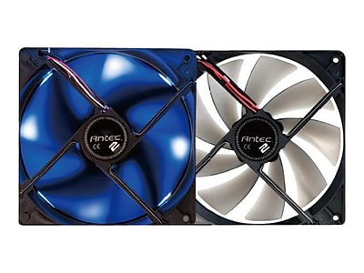 Antec® Twocool™ 140 Case Fan With Blue LED, 1200 RPM