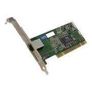 AddOn ADD-PCI-1RJ45 Single RJ45 Port Gigabit Ethernet Network Interface Card For NETGEAR GA311NA