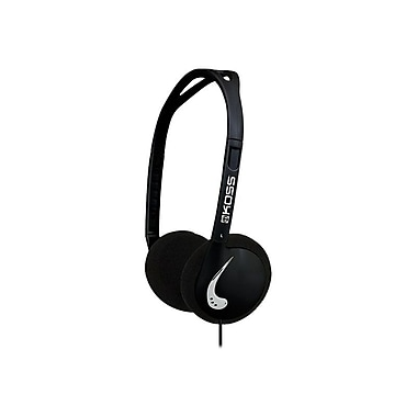 Koss RECOVERY-BLK On-Ear Headphone, Black