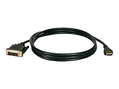 QVS HDVIG-5MC 16.4' HDMI to DVI Cable, Black