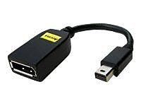 Accell B119B-007J Mini-DisplayPort to DisplayPort Adapter, Black