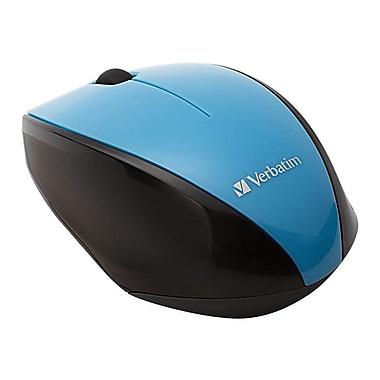 Verbatim 97993 USB Wireless Multi-Trac Blue LED Optical Mouse, Blue