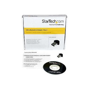 StarTech USBBT2EDR2 Mini USB Bluetooth Wireless Network Adapter, 3 Mbps