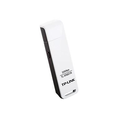 TP-LINK TL-WN821N Wireless N300 USB Adapter, 300Mbps, w/WPS Button IEEE 802.1b/g/n, WEP, WPA/WPA2