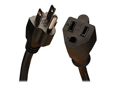 Tripp Lite® SJT 5-15P/5-15R Heavy-Duty Power Extension Cord, 14 AWG, 6'