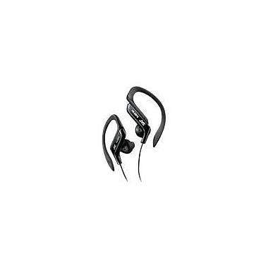 JVC HA-EB75B Stereo Sport Style Ear-clip Headphone, Black