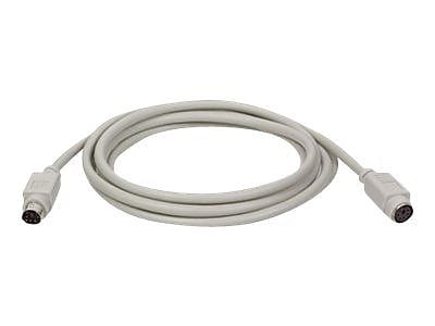 Tripp Lite PS/2 Keyboard/Mouse Extension Cable, 25', Beige, Molded (P222-025)