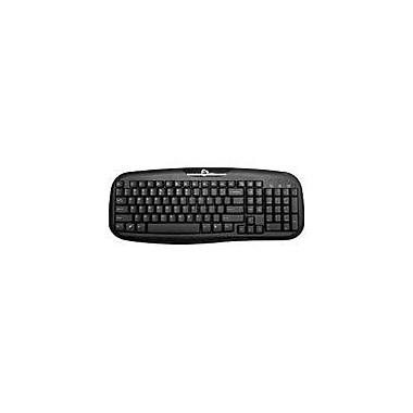 SIIG JK-US0012-S1 Wired Desktop Keyboard, Black