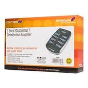 StarTech 8-Port VGA Video Splitter, Silver (ST128W)