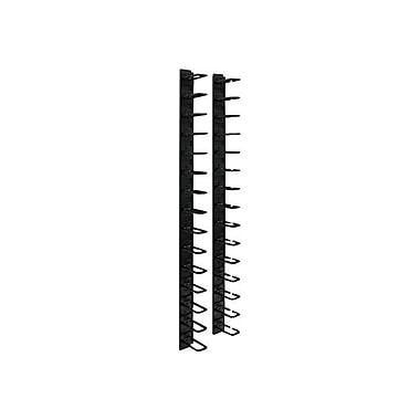 Tripp Lite® SRCABLERING Vertical Cable Manager, 6'