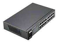 ZyXEL ES1100-16 16-Port Ethernet Switch, Black