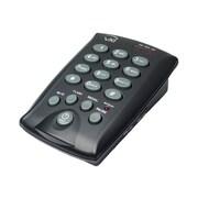 VXi D200 Dialpad Single-Line Telephone for Headsets,(202922)