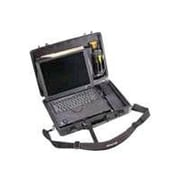 Pelican™ Laptop Hard Case With Foam and Lid Organizer, Black