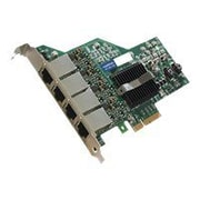AddOn ADD-PCIE-4RJ45 Quad RJ45 Port Gigabit Ethernet x4 Network Interface Card For HP 593722-B21