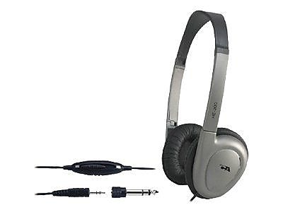 Cyber Acoustics HE-200RB Over-Ear Stereo Headphone, Gray