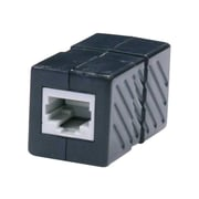 STEREN® 310-040 Cat.6 RJ-45 Female to RJ-45 Female Coupler Adapter, Black
