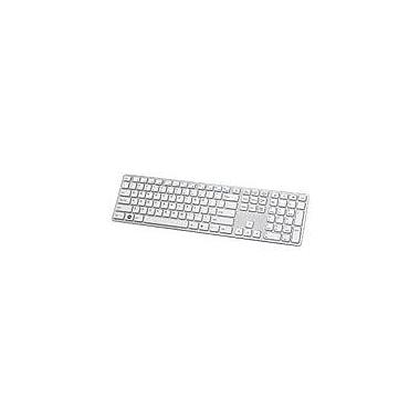 i-rocks KR-6402-WH Wired Slim Keyboard, White