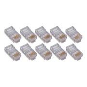 4XEM™ Cat6 RJ45 Ethernet Plugs/Connector, 50/Pack