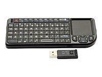 VisionTek Candyboard 900319 USB RF Wireless Mini Keyboard, Black