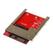 "StarTech SAT32MSAT257 mSATA SSD to 2.5"" SATA Adapter Converter"