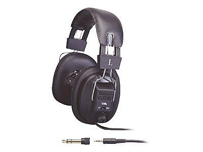 Cyber Acoustics ACM-500 Over-Ear Stereo Headphone for Education, Black