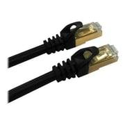 QVS CC716-10 10' CAT-7 Patch Cord, Black