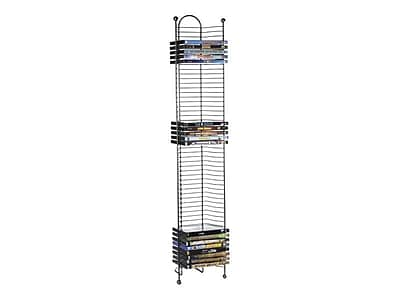 Atlantic 6371-2035 DVD Tower, Gunmetal IM1GB1184