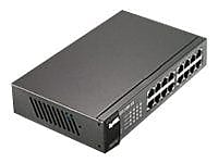 Zyxel GS1100-16 Ethernet Switch, 16 Ports