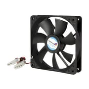 StarTech FANBOX12 Dual Ball Bearing Computer Case Fan With LP4 Connector, 2000 RPM