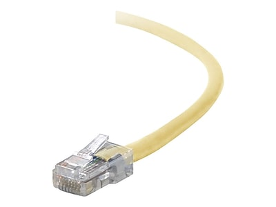Belkin A3L791-07-YLW 7' RJ-45 Male/Male Cat5e Assembled Patch Cable, Yellow