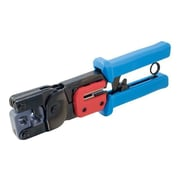 C2G® 19579 RJ11/RJ45 Crimping Tool With Cable Stripper