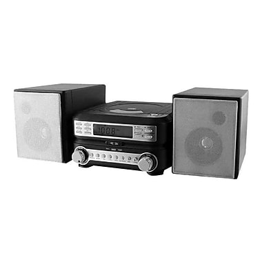 DPI/GPX-PERSONAL & PORTABLE Home Music System HC221B Compact CD Player Stereo with AM/ FM Tuner