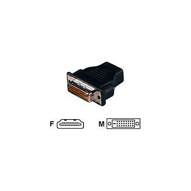 QVS HDVI-FM HDMI to DVI-D Video Adapter, Black