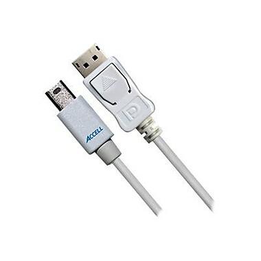 Accell B143B-003J 3.28' Mini DisplayPort to DisplayPort 1.2 Cable, White