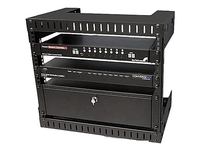 StarTech RK812WallO Open Frame Wall Mount Equipment Rack