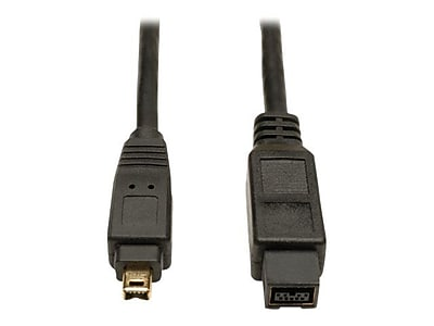 Tripp Lite® 6' FireWire 800 IEEE 1394b 9Pin/4Pin Hi-Speed Cable