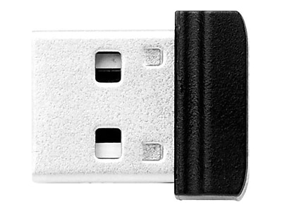 Verbatim ® 16GB Nano USB 2.0 Flash Drive with USB OTG Micro Adapter, Black (49821)