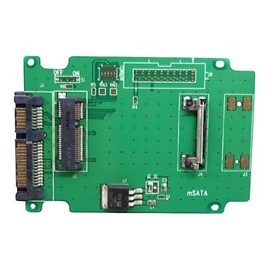 Aleratec™ 350118 50mm mSATA SSD to SATA Adapter