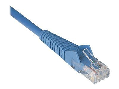 Tripp Lite 2' Cat6 Snagless Molded Patch Cable, Blue