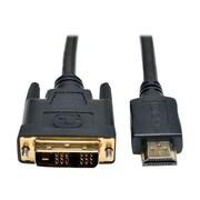 Tripp Lite® P566 Series 30' HDMI to DVI Gold Digital Video Cable, Black