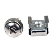 StarTech M6 Mounting Screw And Cage Nut For Server Rack