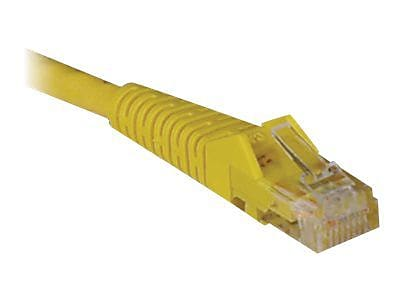 Tripp Lite 15' Cat6 RJ45/RJ45 Snagless Molded Patch Cable, Yellow