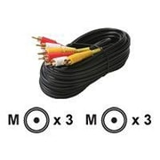 STEREN 206-275 6' Composite RCA Cable, Black