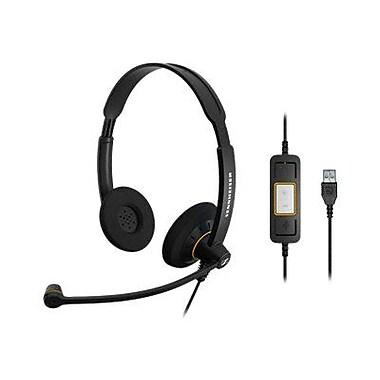 Sennheiser SC 60 USB ML 504547 Wired USB Office Headset, Black