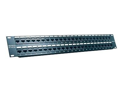 TRENDnet® TC-P48C5E 48-Port Cat5/5e Rack Mount Unshielded Patch Panel
