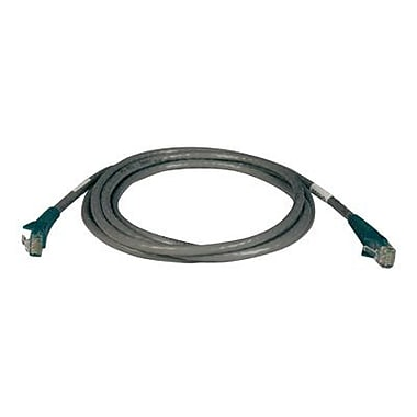 Tripp Lite N210-007-GY 7' RJ45M/M Cat6 Gigabit Cross Over Molded Patch Cable, Gray